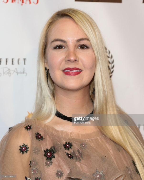 HOLLYWOOD, CALIFORNIA - DECEMBER 14: Singer Kendra Muecke attends 'The App That Stole Christmas' charity event at TCL Chinese 6 Theatres on December 14, 2019 in Hollywood, California. (Photo by Paul Archuleta/Getty Images)